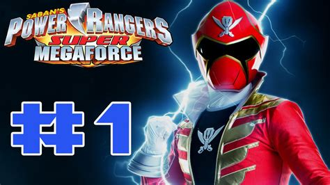 power rangers megaforce 3ds walkthrough part 1 stage 1 hd