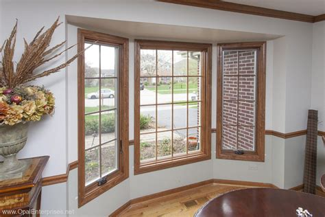 perfect match  custom stained andersen windows
