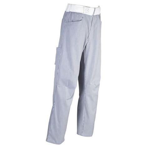 pantalon de cuisine robur pantalon de cuisine arenal ligné marine robur