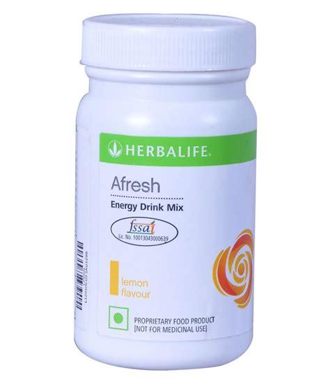 Herbalife Afresh Energy Drink Mix Lemon Flavor Available