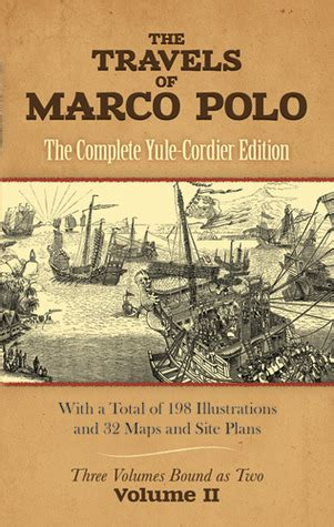 travels  marco polo volume ii  complete yule