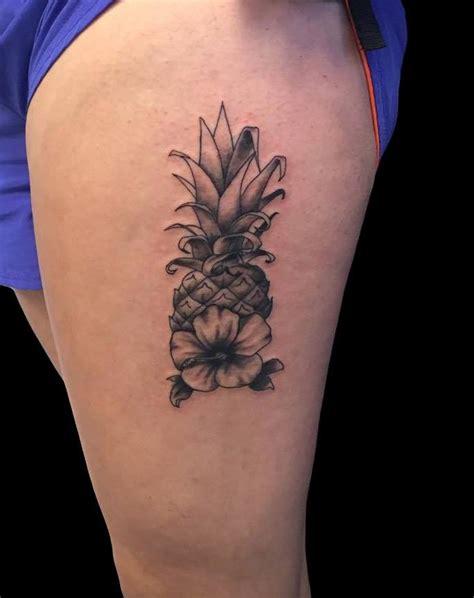 amazing pineapple tattoo idea  people