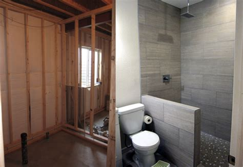 finish  basement bathroom    pictures