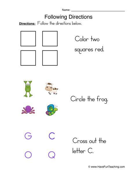 basic skills worksheets  fun teaching
