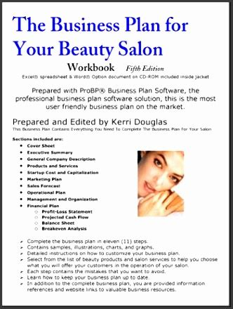 hair salon business plan template sampletemplatess