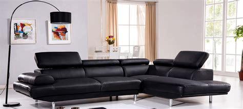 canape en cuir noir canapé d 39 angle en cuir noir à prix incroyable