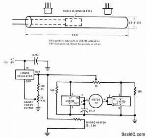 Position Sensor - Sensor Circuit - Circuit Diagram