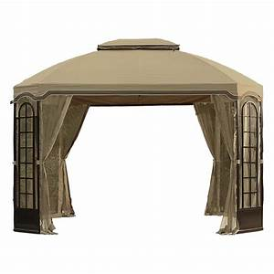 Terrace Gazebo Replacement Canopy And Netting Set Garden Winds