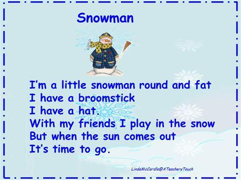 a s touch more snowman songs 732   Snowman