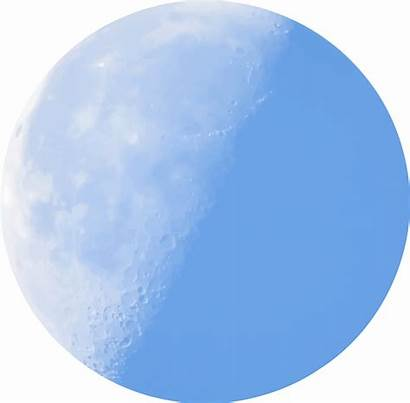 Moon Clipart Half Transparent Clip Background Getdrawings