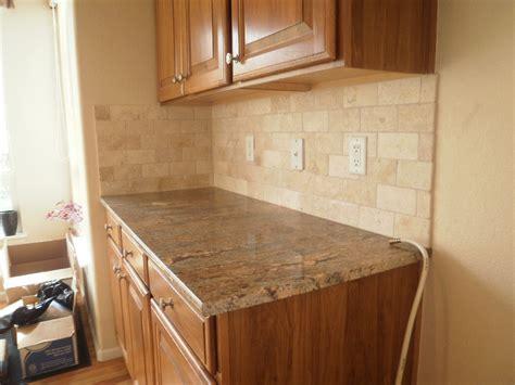kitchen backsplash travertine travertine tile patterns for kitchens range
