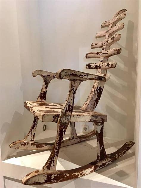 skeleton rocking chair  stdibs