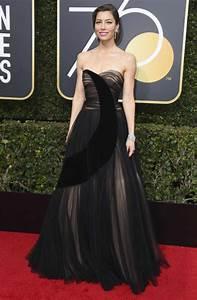 Jessica Biel On Golden Globe Awards 2018 Red Carpet