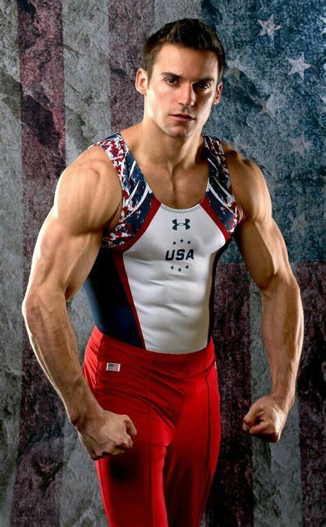 pin  matt acker  men muscular male gymnast
