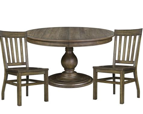 circle dining table set dining set with round table karlin by magnussen mg d2471 22set