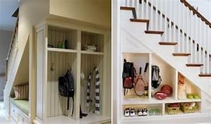 Meuble Sous Escalier Leroy Merlin : am nagement sous escalier 60 id es dingues du placard ~ Dailycaller-alerts.com Idées de Décoration