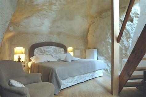 chambre troglodyte saumur hôtel troglodyte demeure de la vignole à turquant 49