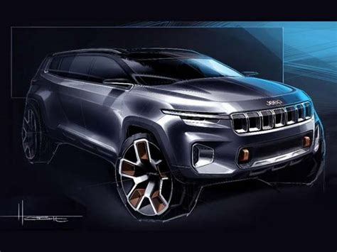 Jeep Yuntu Concept 7-seater Suv Teased