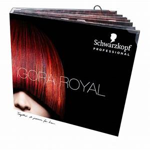 Salon Hair Colour Chart Salon Tools Color Chart Igora Royal Premium Book