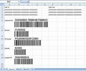 easiersoft bulk barcode generator software permanent With excel shipping label template