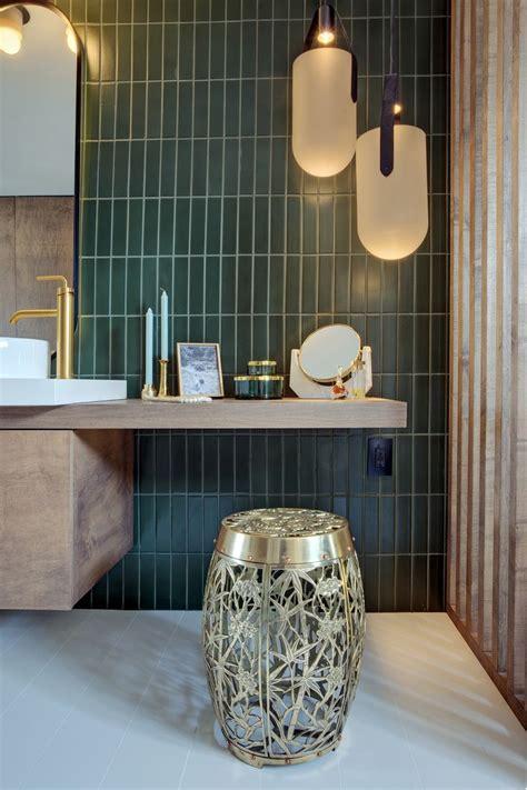 sf decorator showcase master bath green tile bathroom