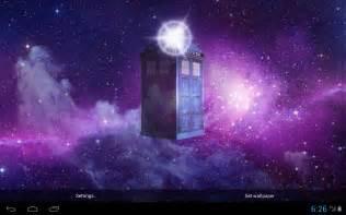 Dr Who TARDIS Wallpaper Live