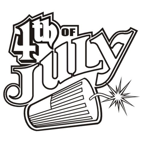 july black and white 4th of july clipart black and white 4th of july clipart