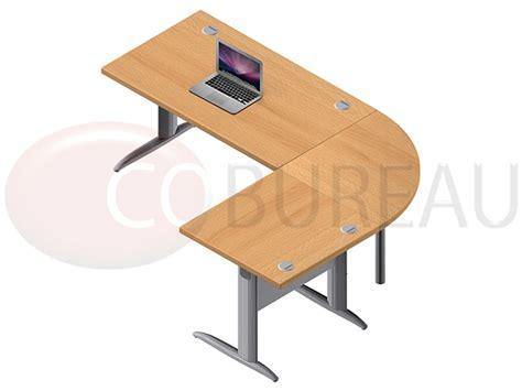 bureau angle droit ensemble bureau 140 cm pro métal avec angle de liaison 90