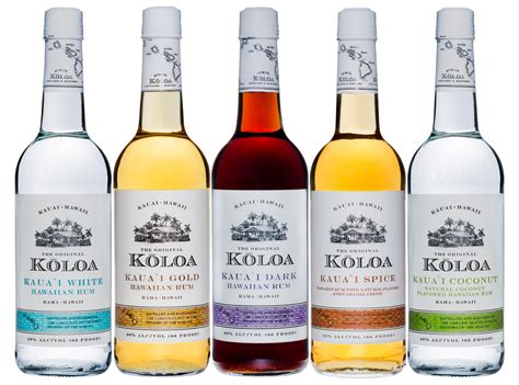 Review: Koloa Hawaiian Rums, Coffee Liqueur, and Ready to Drink Cocktails ? Complete Lineup