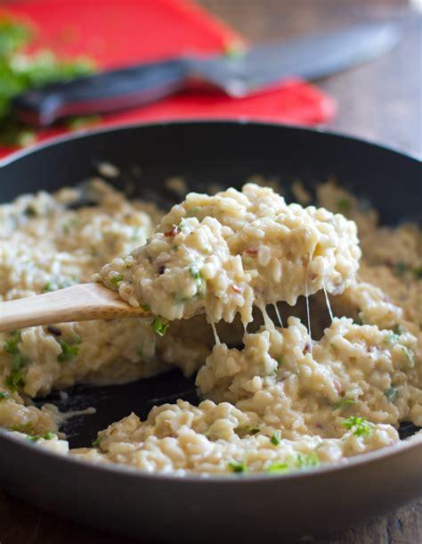 rice with alfredo sauce creamy cauliflower garlic rice pinch of yum