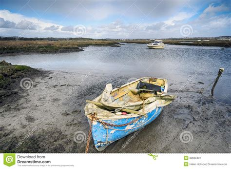 Boat Graphics Poole by Boat Moored In Poole Harbour Stock Image Image 30683431