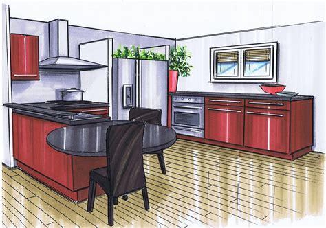 photo de cuisine ouverte sur sejour cuisine ouverte sur séjour le de elise fossoux