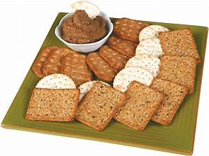 Plate of Crackers – Prepared Food Photos | The Stock Photography Site For The Food Industry
