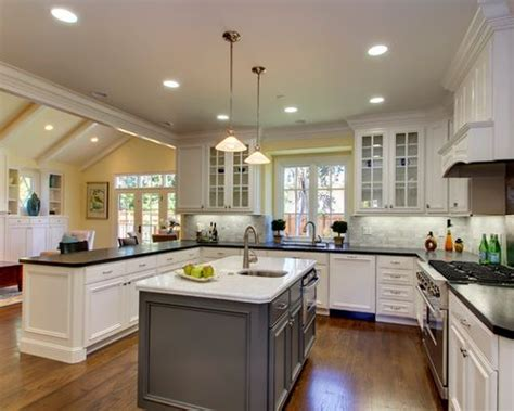 kitchen cabinets sf contrasting countertops ideas pictures remodel and decor 3233