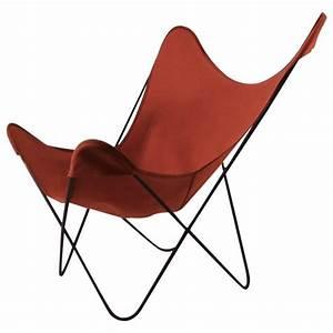 Butterfly Chair Original : hardoy butterfly chair with original orange canvas sling seat for sale at 1stdibs ~ Frokenaadalensverden.com Haus und Dekorationen