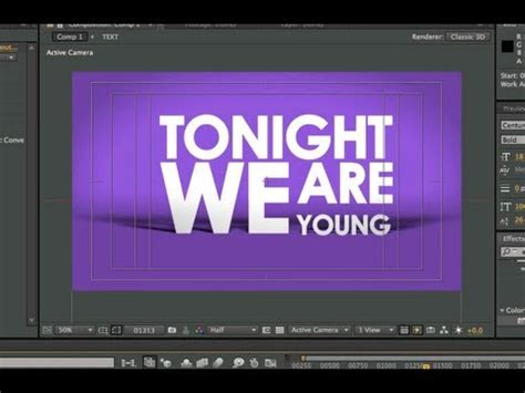 After Effects Tutorial  Basic Typography & Motion