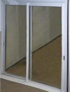 Porte Coulissante Vitree : baie vitree coulissante aluminium blanc hauteur 215x180 ~ Dode.kayakingforconservation.com Idées de Décoration