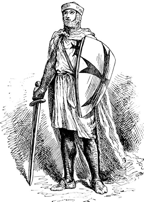 Knight Templar | ClipArt ETC