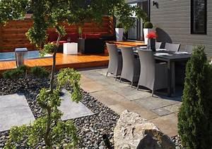 amenagement d une terrasse exterieure maison design With exceptional amenagement terrasse piscine exterieure 9 photos de vos amenagements de cours et terrasses