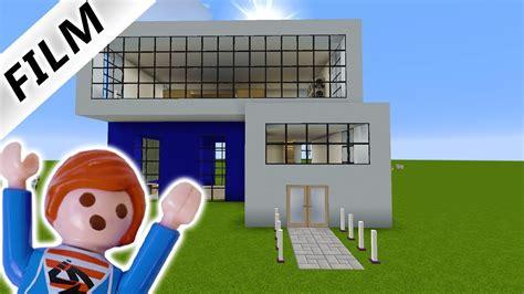 Julian Baut Modernes Haus Bei Minecraft Im Kreativmodus