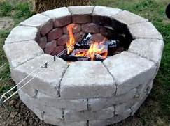 Fast And Easy Fire Pit Stones Came From Home Depot And Cost Less Then 100 T