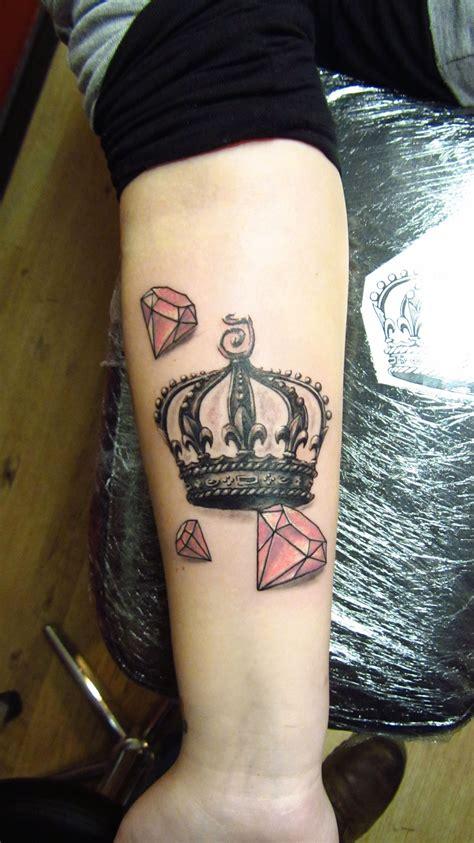 crown  diamonds tattoo  tattoos diamond