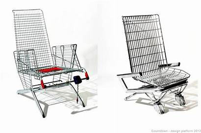 Shopping Cart Furniture Trolley Etienne Reijnders Upcycled