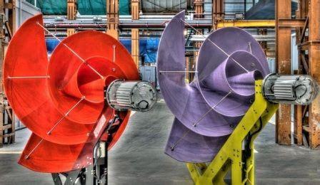 Безлопастные турбины новый вид ветрогенераторов.