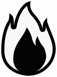 Cartoon Fire Flames Black And White | Clipart Panda - Free ...