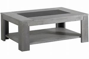 Table Basse Grise Pas Cher : table basse ch ne gris plaqu bois sidney design sur sofactory ~ Teatrodelosmanantiales.com Idées de Décoration