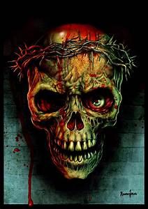 Thorns Skull by ScreamingDemons on DeviantArt