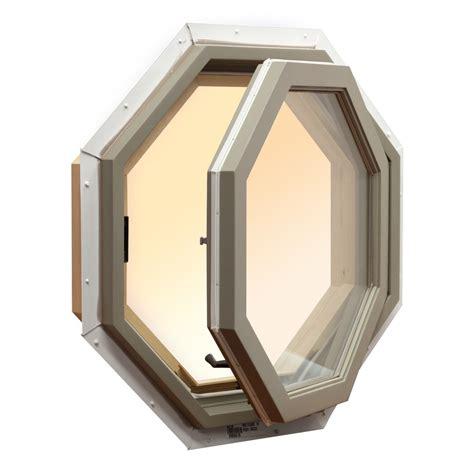 shop awsco octagon replacement white exterior window rough opening      actual
