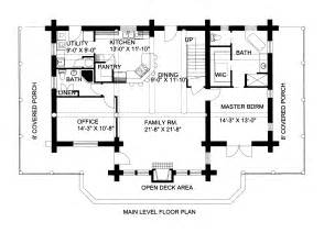 log home floor plans with loft 2700 sq ft log cabin home design with loft