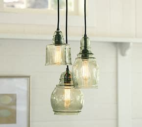 paxton glass 16 light pendant paxton glass 16 light pendant pottery barn